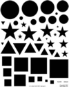Geometric Shapes--Stars